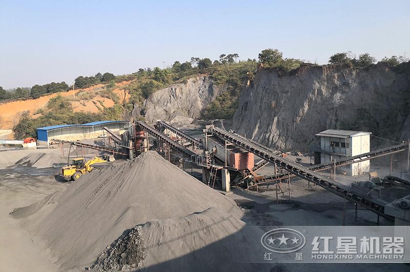 各大小砂石厂生产机制砂